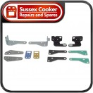 Rangemaster: Genuine Door Hinge and Bracket Kit  - A087593
